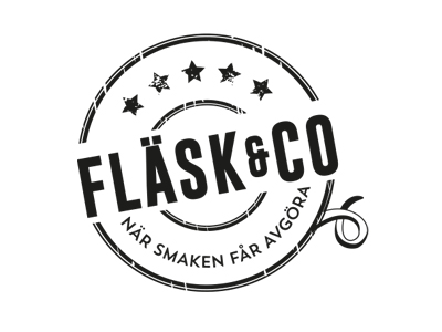 Flæsk og Co. logo