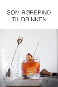 Lolligroni cocktail med slikkepind