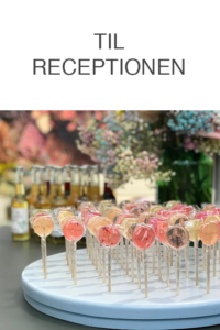 Cocktail slikkepinde til receptionen