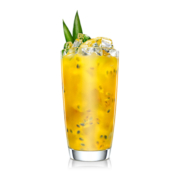 Ginger ale Passion cocktail